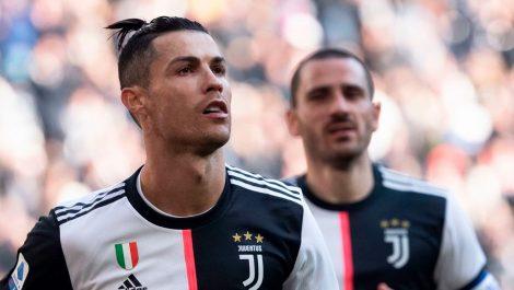 Cristiano guió la victoria de la Juventus
