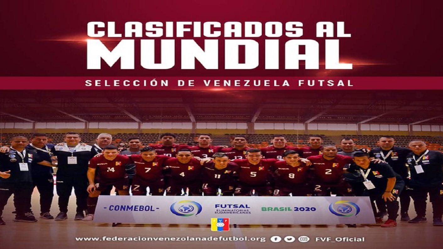 Venezuela clasificó por primera vez en su historia al Mundial de Futsal