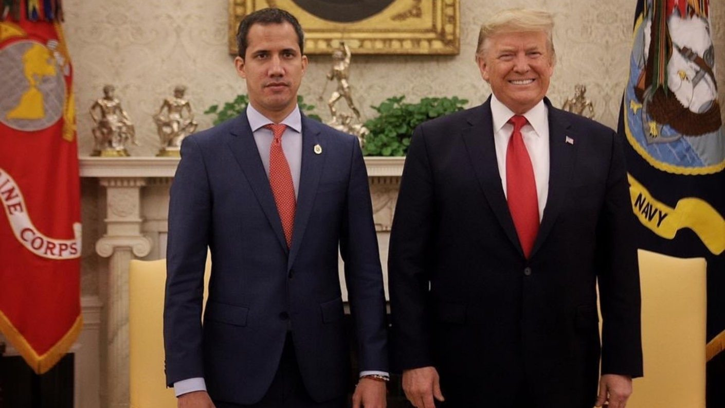 Guaidó: evaluamos con asesores militares de Trump las opciones para Venezuela