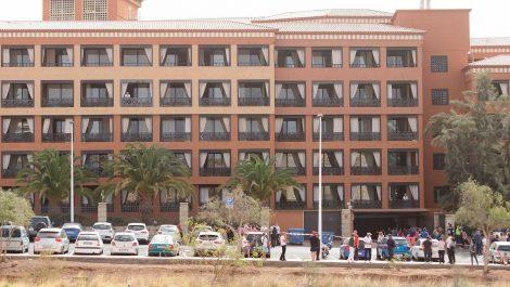 Un millar de personas son aislados en un hotel por alerta de Coronavirus