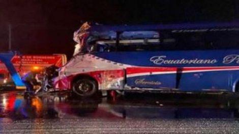 Ecuador: Primer accidente de carnaval deja siete muertos y 30 heridos