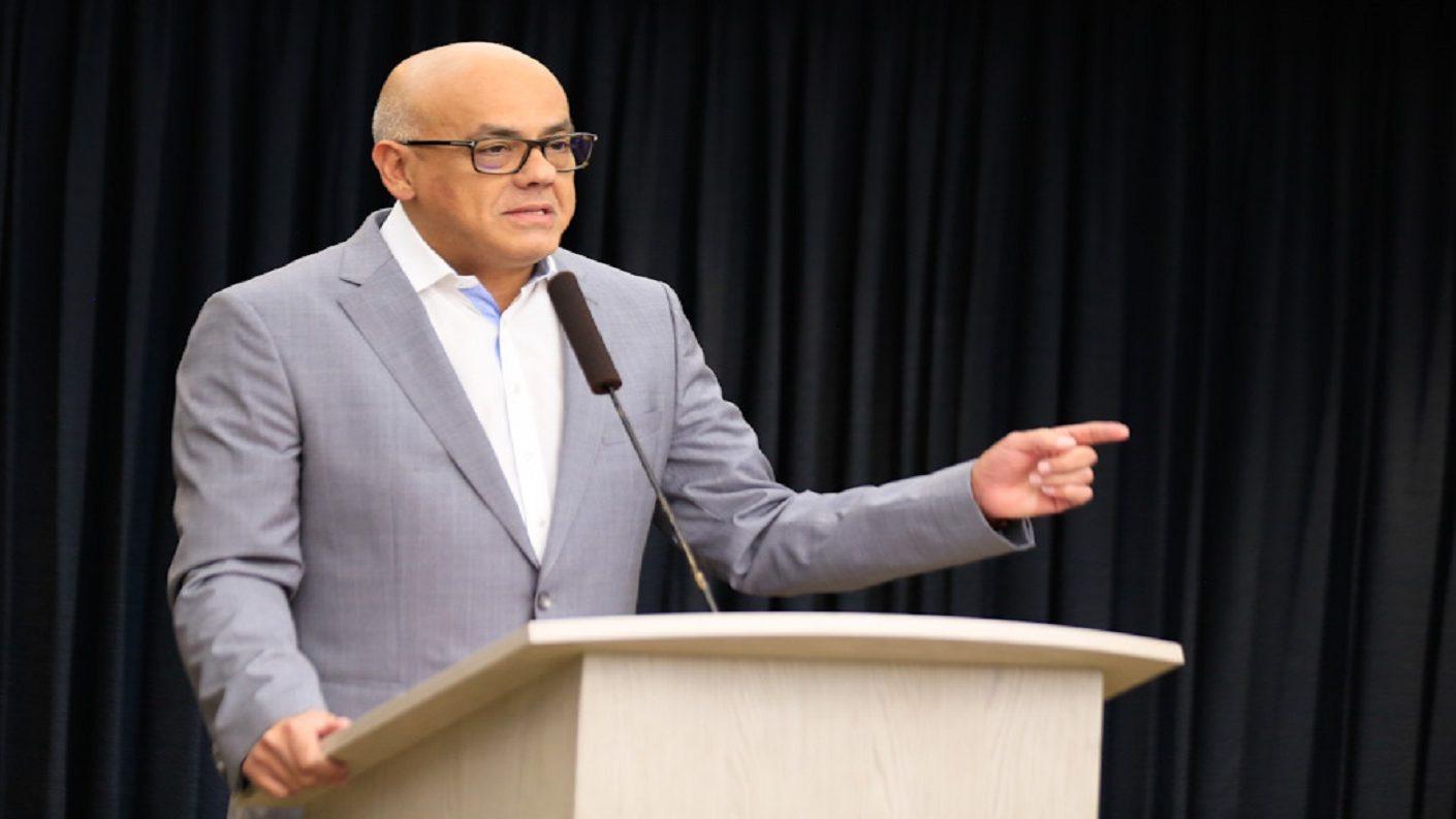 Jorge Rodríguez acusa a Guaidó de protagonizar el más gigantesco caso de corrupción