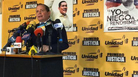 """Guanipa: """"No existe diálogo que no vaya encabezado por la decisión de que haya un CNE"""""""