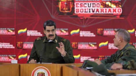 Maduro advierte que eventuales ejercicios militares se harán sin previo aviso