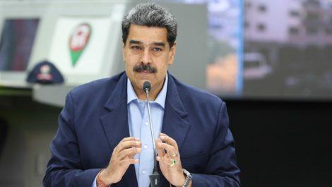 Maduro: hay cinco pacientes en estado crítico