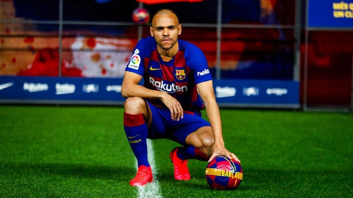 Martin Braithwaite es el nuevo delantero del Barcelona