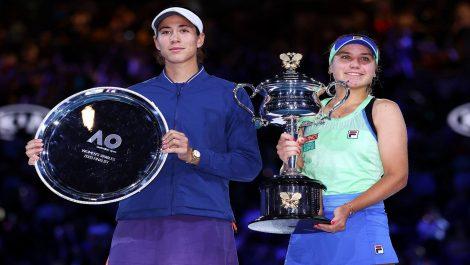 Muguruza no pudo ante Sofia Kenin en la final del Open de Australia