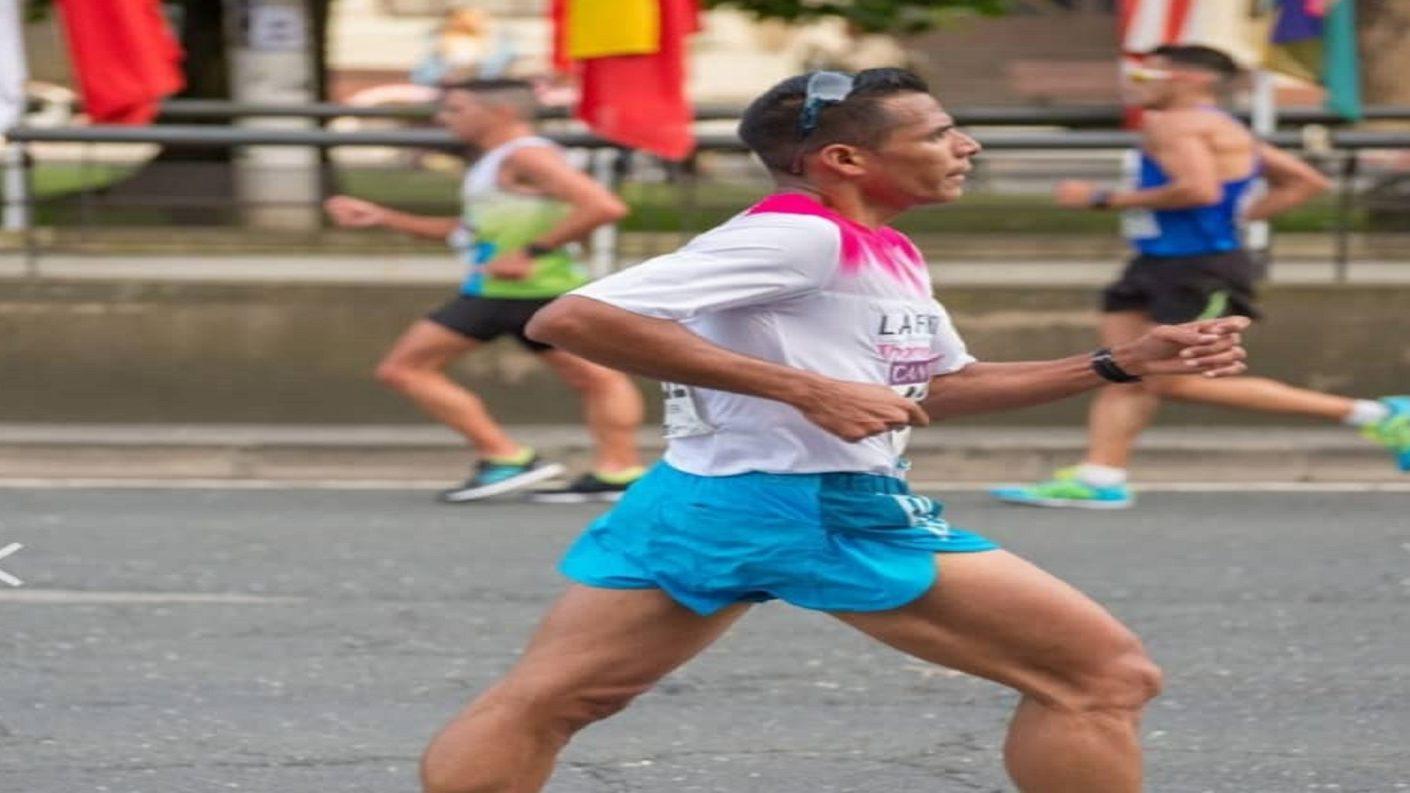 Atleta Thomas Silveira representará a Venezuela en el Suramericano de Marcha