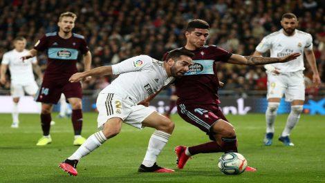 Real Madrid empató en el Bernabéu ante Celta de Vigo