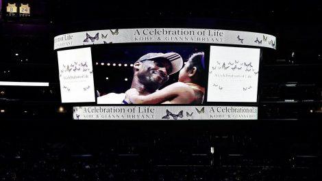 Staples Center se llenó para dar el último adiós a Kobe Bryant y a su hija Gigi