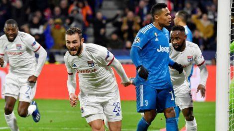 Lyon anuló a la Juventus y le ganó 1-0 en la Champions League