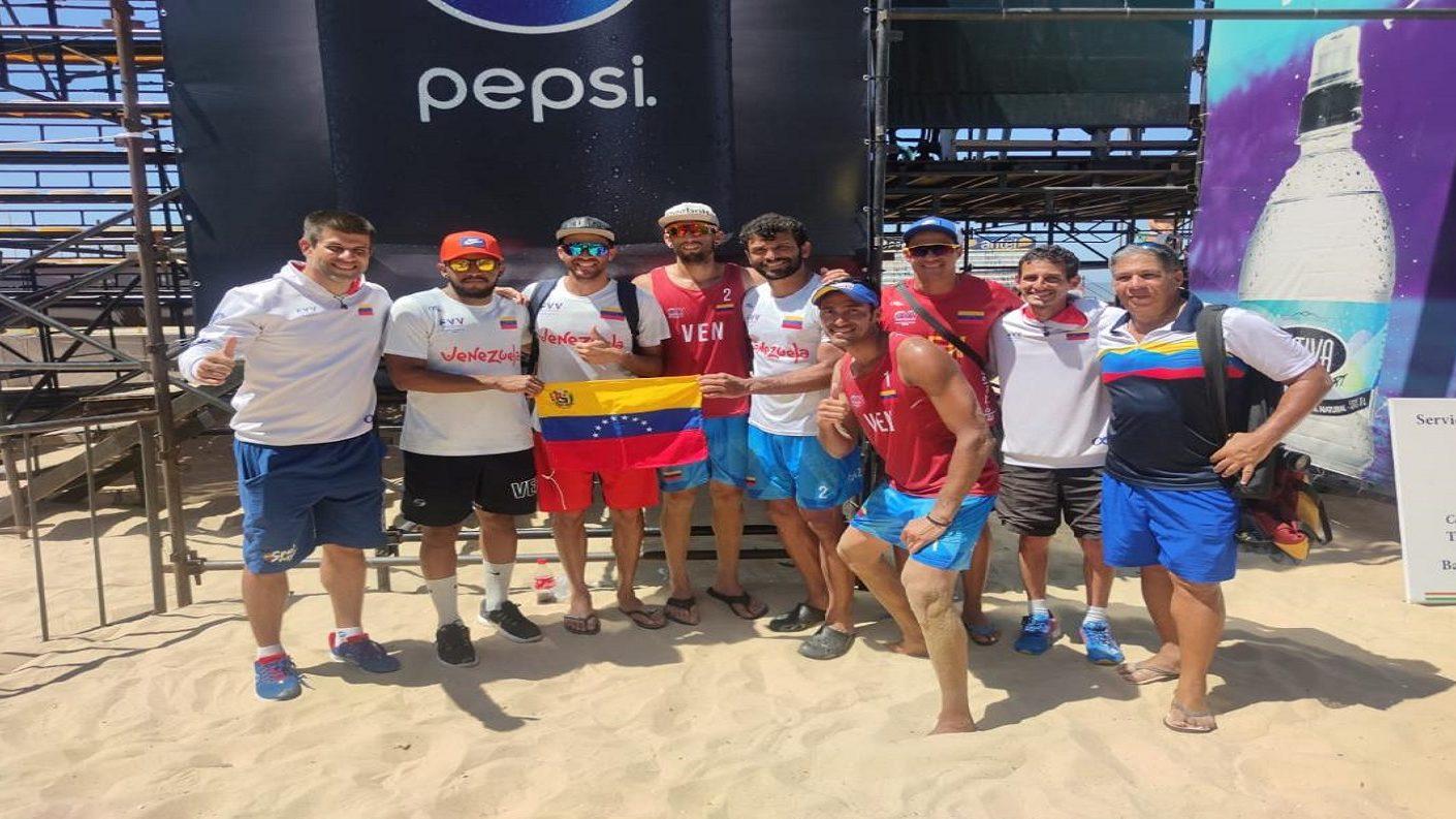 Venezuela campeón en Uruguay en set de oro