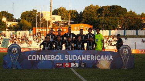 Zamora se despidió de la Copa Sudamericana