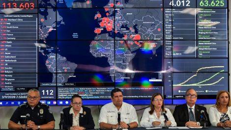 Panamá confirma su primer caso de coronavirus