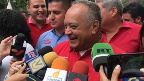 Diosdado Cabello asegura que hubo poca afluencia en marcha opositora