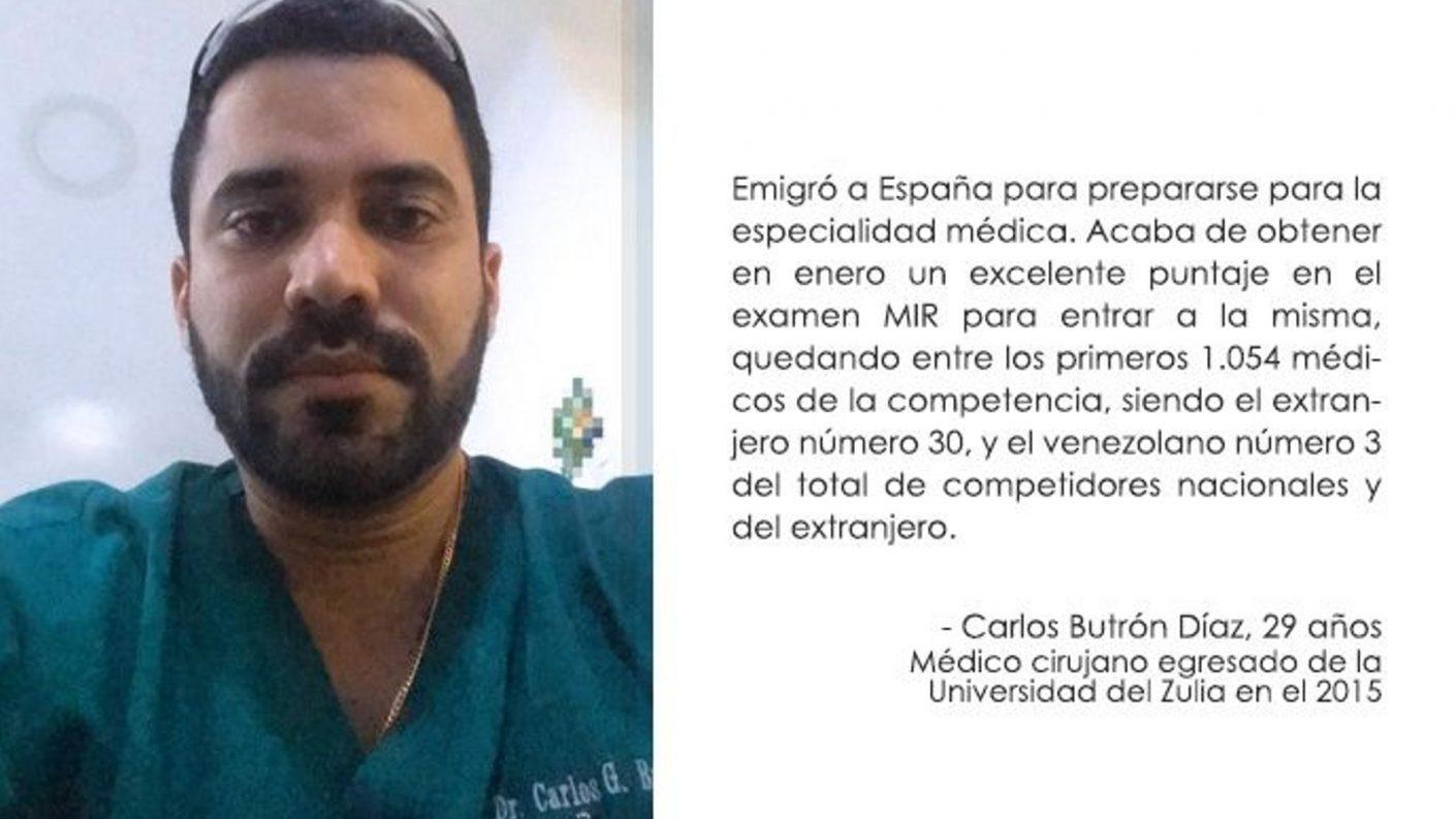 Médico zuliano cuenta su experiencia en España