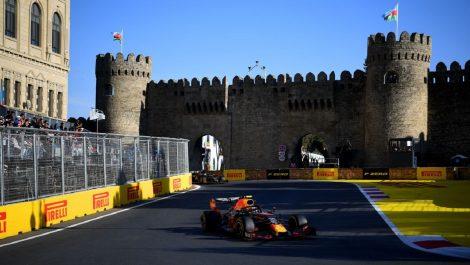 Gran Premio de Bakú cancelado por la pandemia