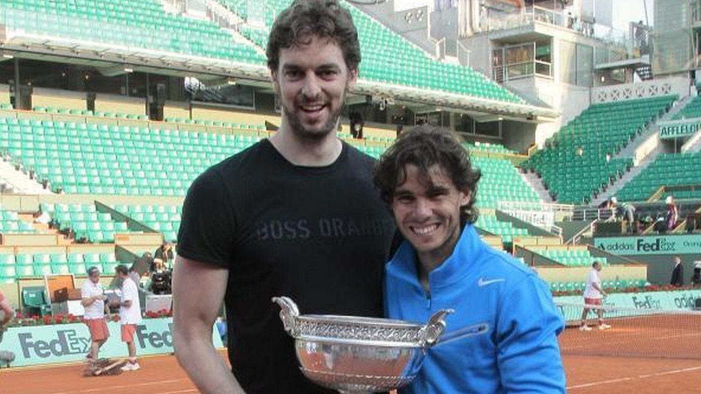 Rafael Nadal y Pau Gasol unen esfuerzos para luchar contra la pandemia