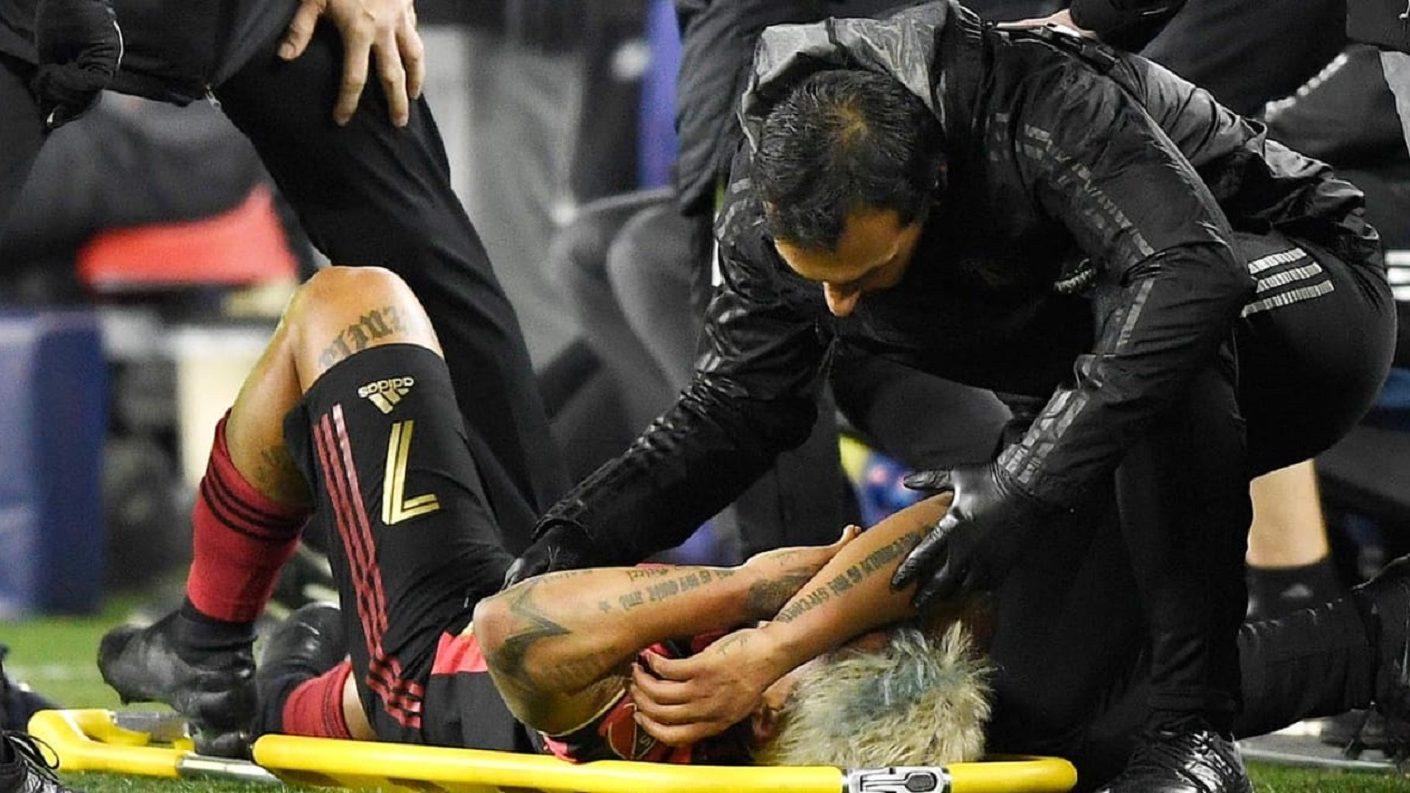 Josef Martínez sufrió desgarro en la rodilla derecha