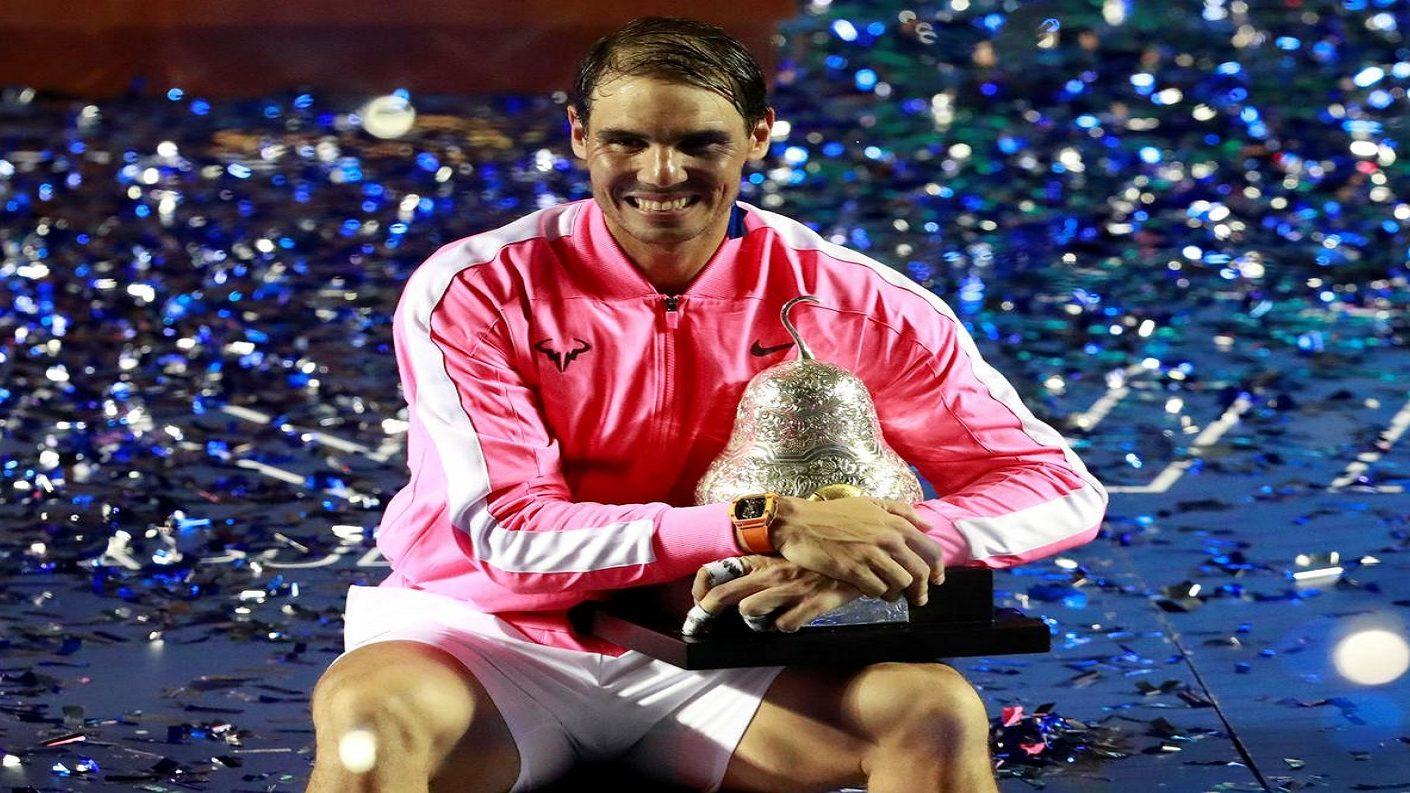 Nadal campeón del ATP 500 de Acapulco