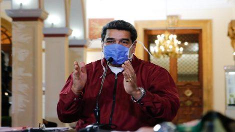 Maduro anuncia jornada «masiva» de despistaje contra el covid-19