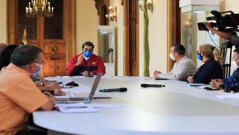 Maduro anuncia medidas económicas por seis meses ante pandemia