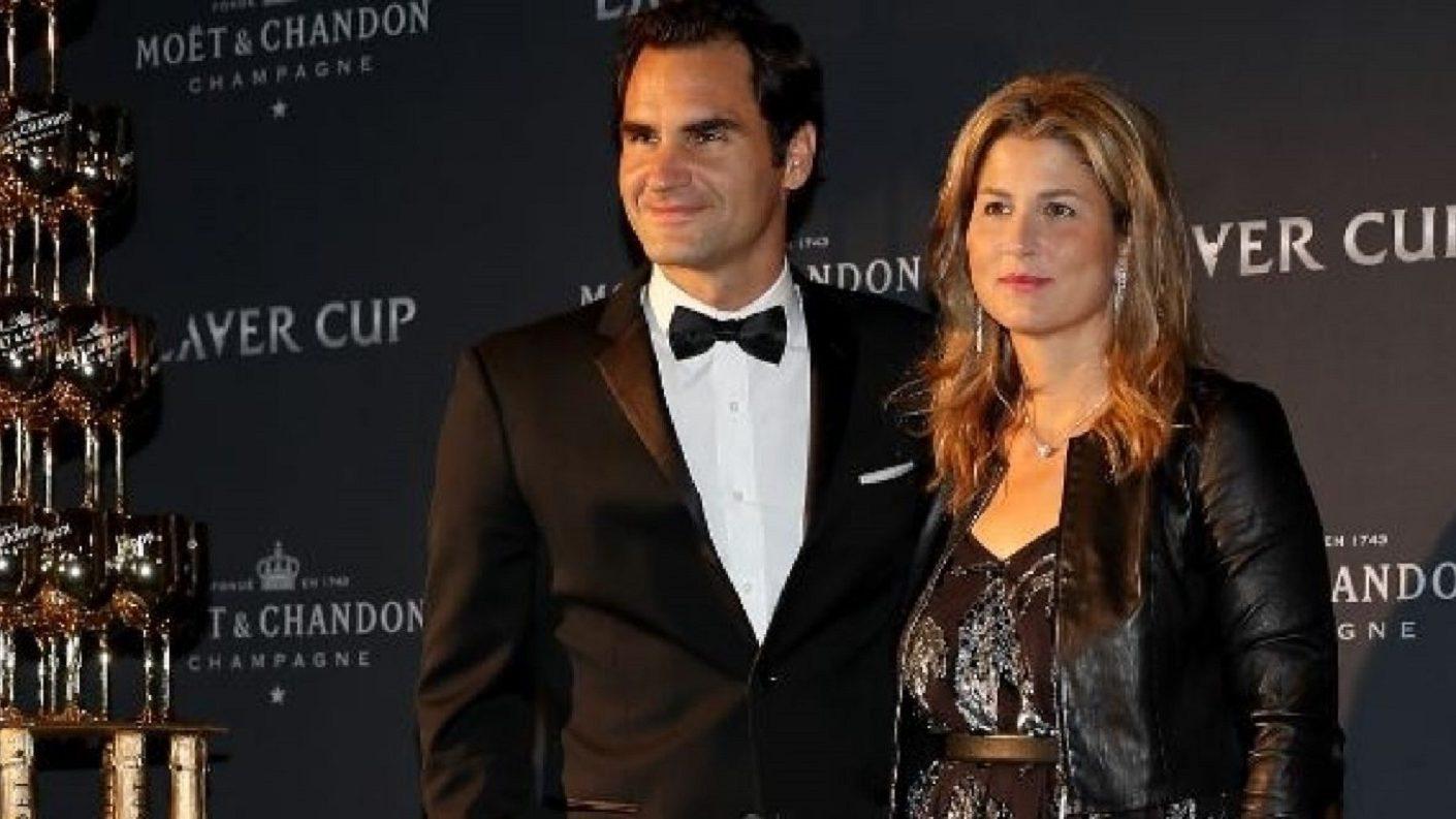 Roger Federer y Mirka Vavrinec realizan donación millonaria
