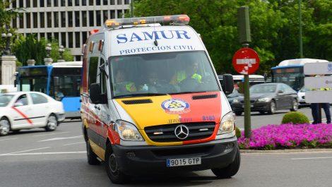 España: apedrean ambulancias que trasladan pacientes con coronavirus
