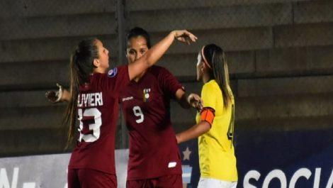 La Vinotinto Sub20 femenina aplastó a Ecuador