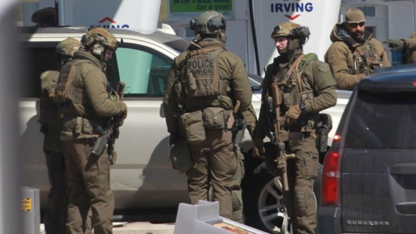 Canada policia tiroteo