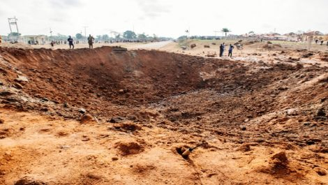 La verdad sobre la caída de un «meteorito» en Nigeria