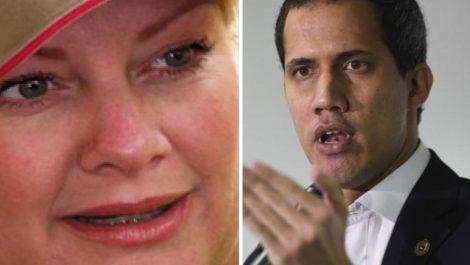 La ex de Hugo Chávez llama «rata asquerosa» a Guaidó
