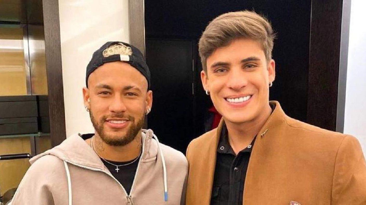 Neymar celebró nueva relación de su madre con joven de 22 años
