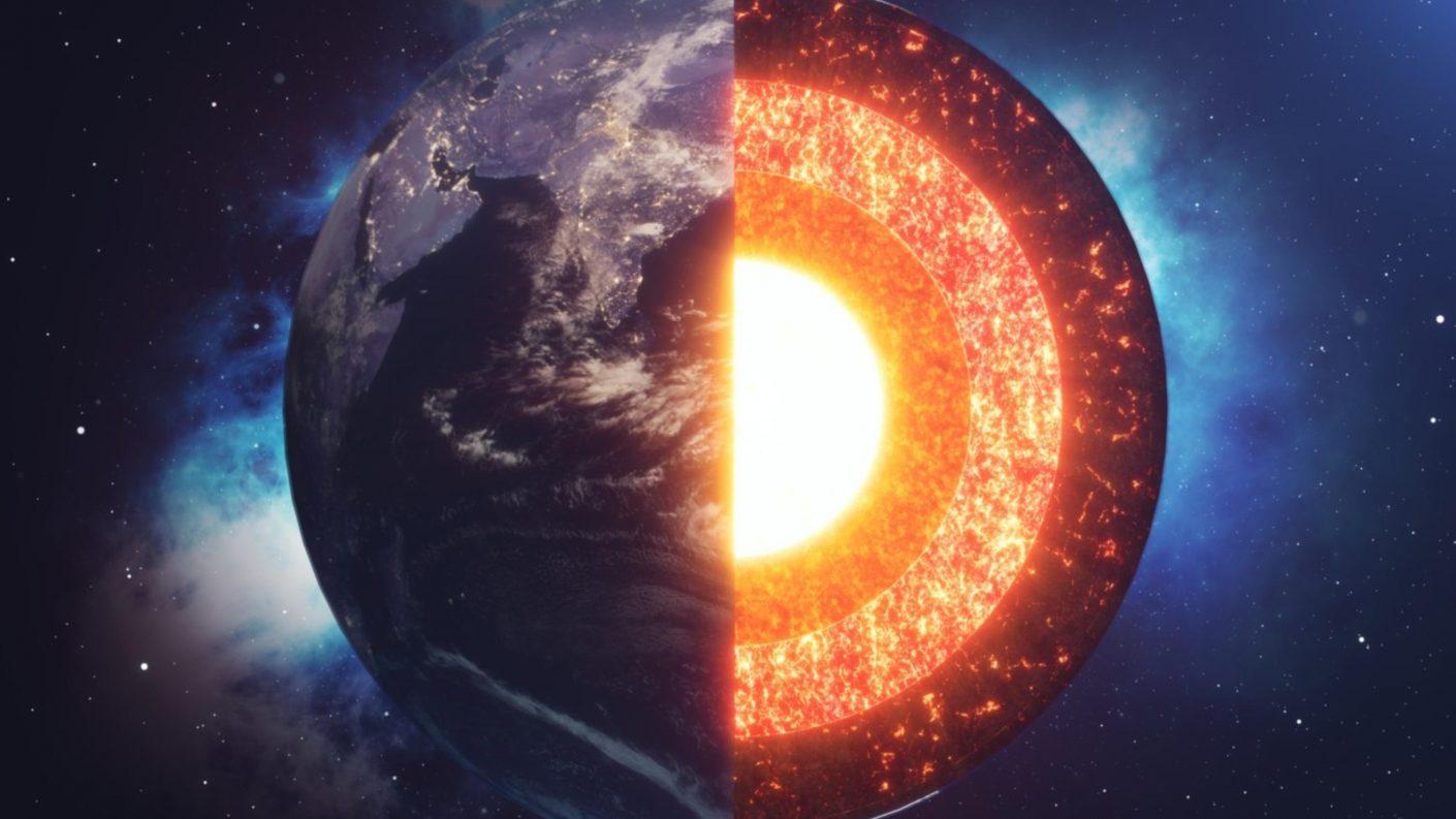 Identifican fuga de hierro en el núcleo de la Tierra