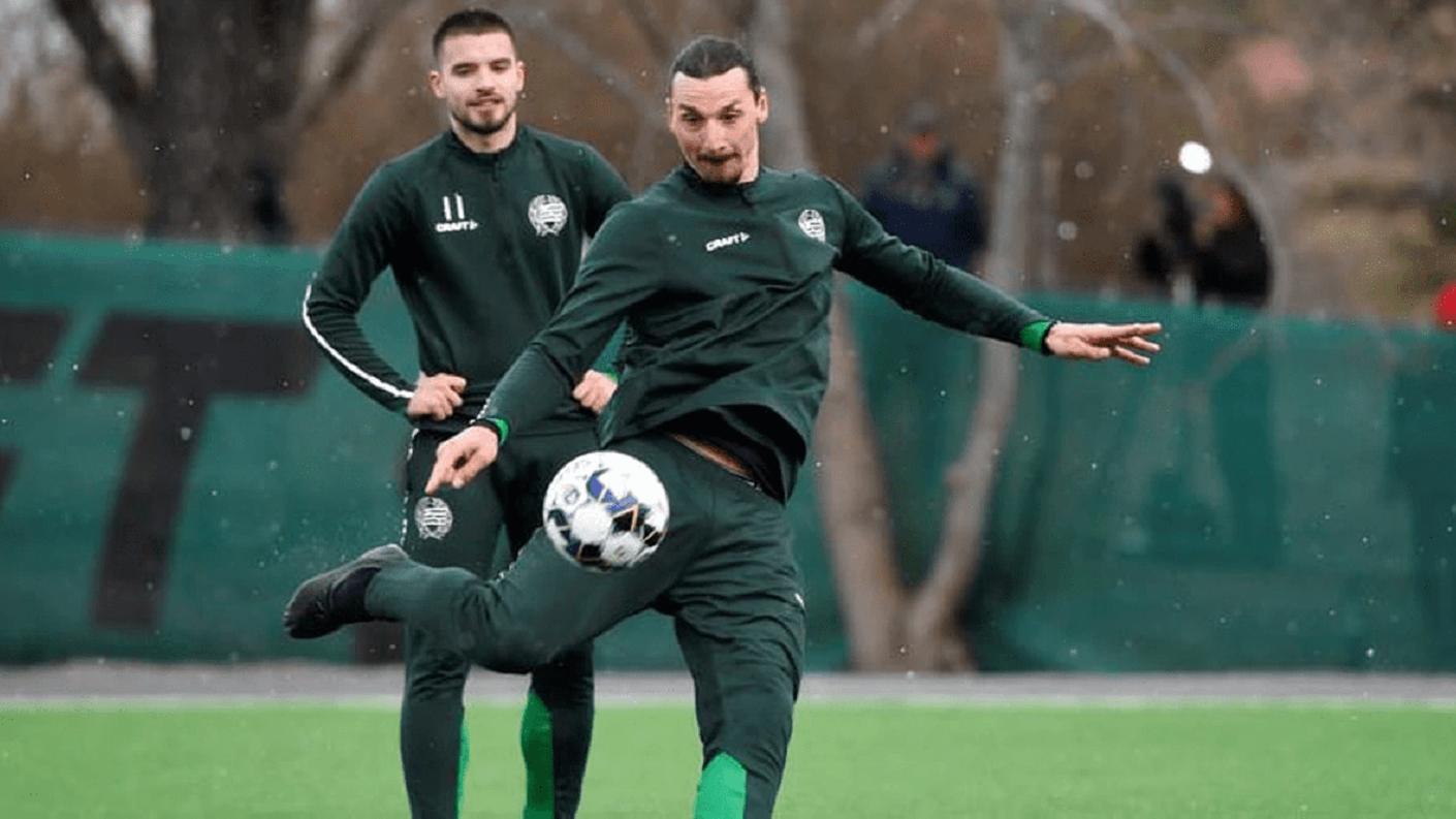 Ibrahimovic jugará torneo interno con el Hammarby