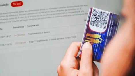 Comenzó entrega del Bono Venezuela se cuida por el Carnet de la Patria