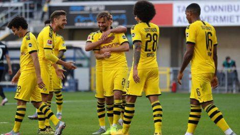 El Dortmund no tuvo piedad con el Paderborn