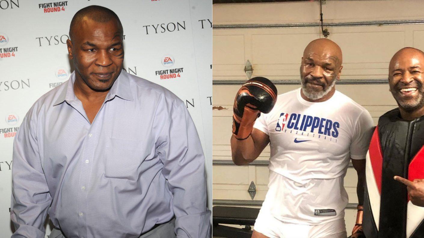 Mike Tyson sorprende con el increíble cambio físico