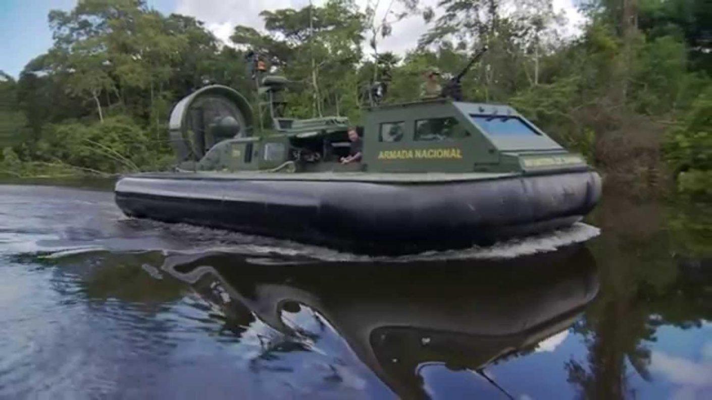 Hallaron lanchas de combate de Colombia en el estado Bolívar