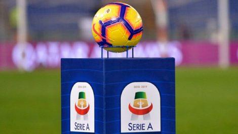 Serie A reanuda el 20 de de junio