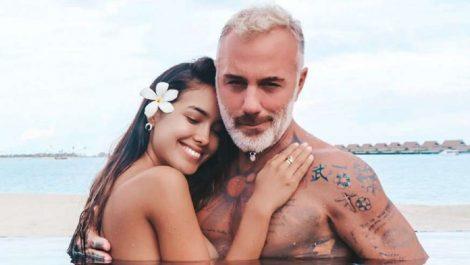 El millonario Gianluca Vacchi y su novia venezolana esperan su primer hijo