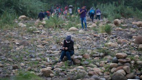 176 venezolanos fueron detenidos al intentar ingresar al país por trochas