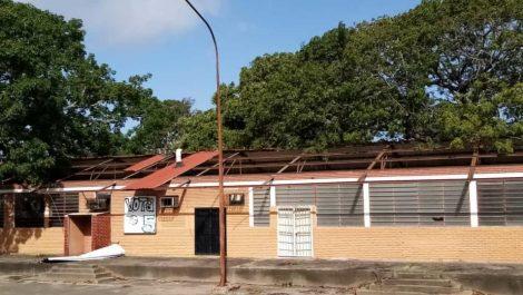 El hampa robó y destrozó la UDO en Ciudad Bolívar
