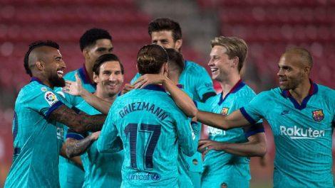 El Barcelona no tuvo problemas ante el Mallorca