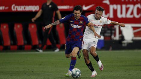 El Barcelona no pasó del empate ante el Sevilla y le da la oportunidad al Madrid de asumir el liderato