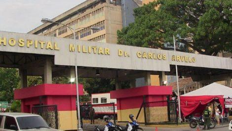 Hombres armados robaron el Hospital Militar de Caracas