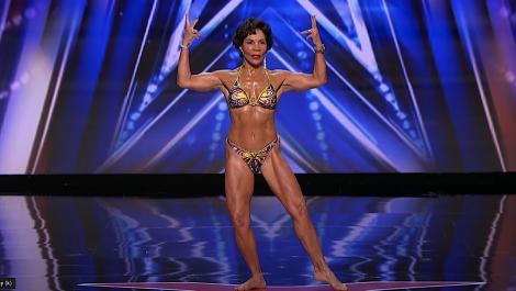 La fisicoculturista venezolana que maravilló al jurado de America's Got Talent