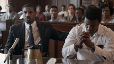 Just-Mercy Michael B Jordan Jamie Foxx