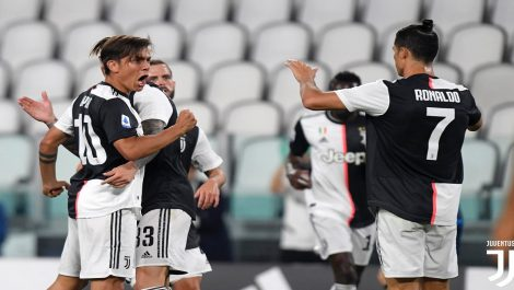 La Juventus goleó al Lecce para seguir líder de la Serie A