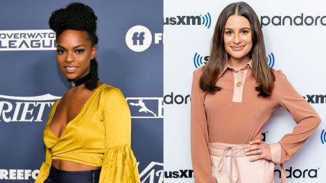 Una actriz de Glee acusa de racista a Lea Michele